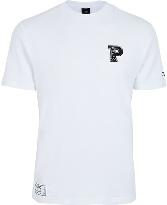 River Island Prolific white slim fit T-shirt