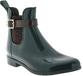 Marc Fisher Ankle Rain Boots w/Buckle - Rainy