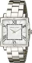 Hamilton Women's H32291114 Jazzmaster White Dial with Mother-Of-Pearl center Watch