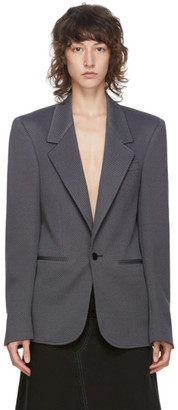 Random Identities Navy and Grey Sister Blazer