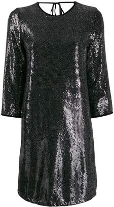 Liu Jo metallic shift dress
