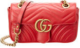 Gucci Gg Marmont Mini Matelasse Leather Shoulder Bag
