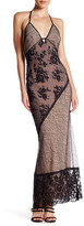 ABS by Allen Schwartz Lace Maxi Slip Dress