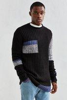 Cheap Monday Separate Colorblock Crew Neck Sweater