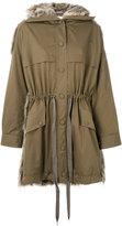 Stella McCartney Fur Free Fur parka jacket - women - Cotton/Modacrylic/Polyester - 36