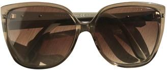 Gucci Beige Plastic Sunglasses