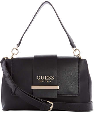 GUESS Tara Top Handle Flap Bag