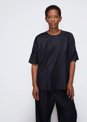 MS MIN Short Sleeve Boxy Blouse