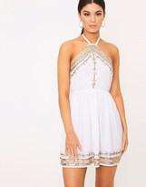 PrettyLittleThing Embellished Swing Dress
