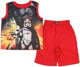 Disney Star Wars The Force Awakens Big Boys Short Pajama Set (X-Small, 4/5)
