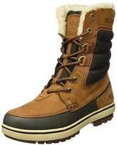Helly Hansen Garibaldi 2, Men Snow Boots, Beige (Whiskey/Espresso/Gum 766), (40 1/2 EU)