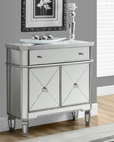 Monarch Mirrored Accent Table