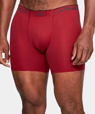 Under Armour Men's Underwear Aruba - Aruba Red Light Heather ArmourVentTM Mesh Boxer Briefs - Boys & Men