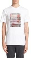 Lanvin Plaid Patch T-Shirt