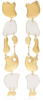 Misho - Wave Breakers Gold-plated Drop Earrings - Gold Multi