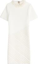 Sonia Rykiel Embellished Collar Sheath Dress