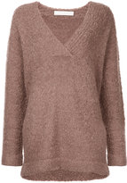 Dion Lee shearling boucle jumper