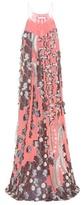Chloé Silk Fil Coupé Dress
