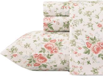 Laura Ashley Lilian Cotton Sheet Set