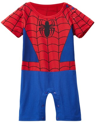Inspired By Marvel Spiderman-Inspired Infant Outfit (0-6 Months)
