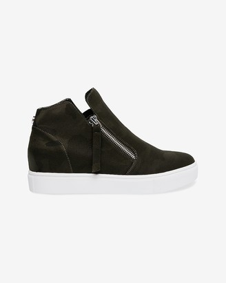 Express Steve Madden Caliber Suede Sneakers