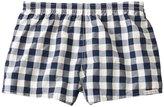 Sauvage Plaid Swimmer Retro Swim Shorts 8128925