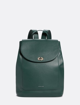 Draper James Leather Backpack
