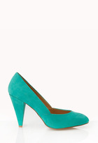 Forever 21 Dynamite Faux Suede Pumps