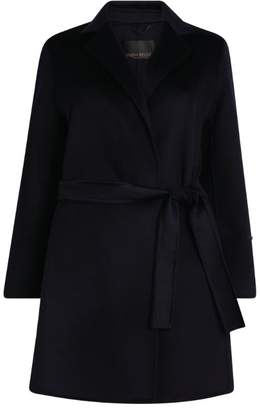Marina Rinaldi Double-Faced Wool Coat