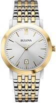 Bulova Men's Classic Two-Tone Bracelet Watch