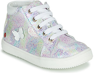 GBB MEFITA girls's Shoes (High-top Trainers) in Pink