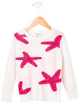 Milly Girls' Embellished Starfish Sweater w/ Tags