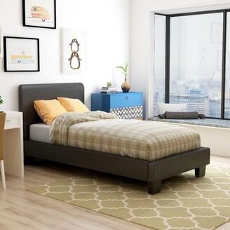Hokku Designs Windal Upholstered Platform Bed Size: Twin