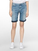 Calvin Klein Stretch Twill City Jean Shorts
