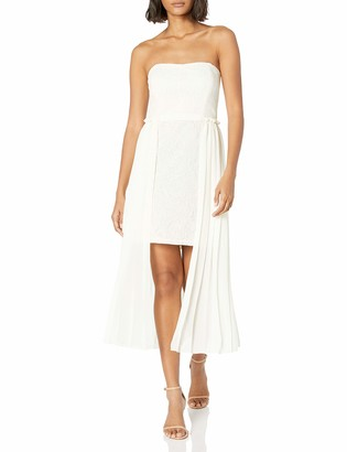 Rachel Roy Women's Lace with Chiffon Overlay