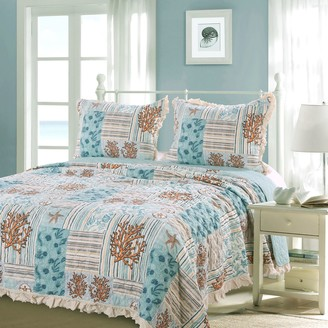 Greenland Home Fashions Home Key West Quilt Set