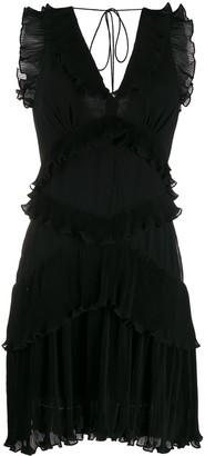 Zimmermann sleeveless ruffle trimming dress