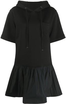 Moncler hooded T-shirt dress