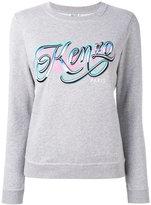 Kenzo Lyrics sweatshirt - women - Cotton - S