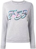 Kenzo Lyrics sweatshirt - women - Cotton - XS