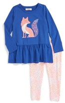 Toddler Girl's Tucker + Tate Bunny Tunic & Leggings Set