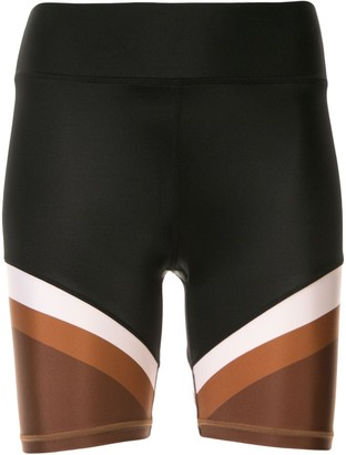 The Upside Colour Block Spin Shorts