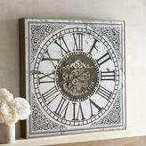 Pier 1 Imports Antiqued Mirrored Wall Clock
