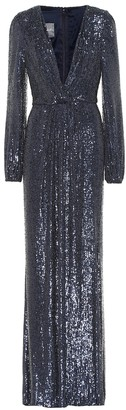 Monique Lhuillier Sequined gown