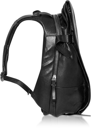 Côte and Ciel Black Leather ISAR M Backpack