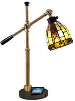 Dale Tiffany Sabastian Wireless Usb Charger Desk Lamp