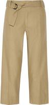 Isabel Marant Onos cotton and linen-blend wide-leg pants