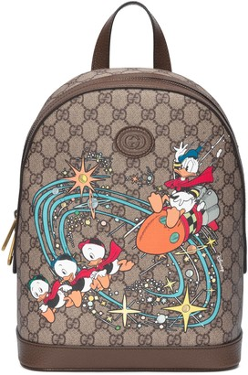Gucci Disney x Donald Duck small backpack