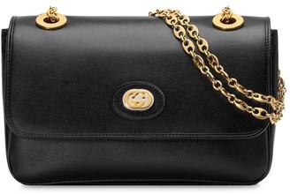 Gucci Gold Tone Logo Bag