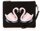 Oasis KISSING SWANS CLUTCH